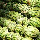 Watermelons by wudzys