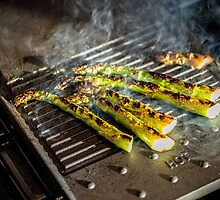 Griddled Asparagus by TonyPriestley