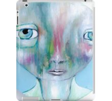 """Crying in colours""  iPad Case/Skin"