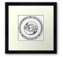 Millennium Eye  Framed Print