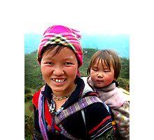 Black Mong Photographic Print