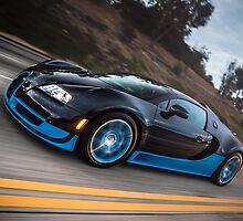 Bugatti Veyron Grand Sport Vitesse by David Coyne