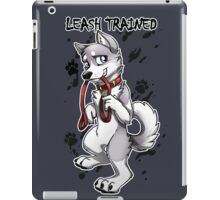 Leash Trained - Gray Husky iPad Case/Skin