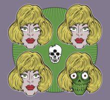 Skulls & Wigs by Ross Radiation