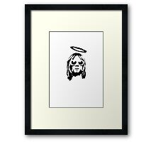 GRUNGE DESIGN 1 Framed Print