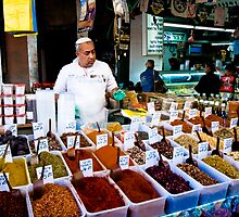 the friendly spice seller by pmacimagery