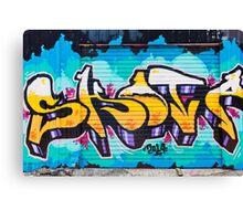 SYDNEY GRAFFITI 3 Canvas Print