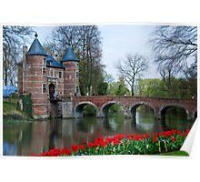 Groot Bijgaarden Castle and Gardens 2 Poster