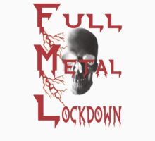 theFMLpodcast - Full Metal Lockdown (white) One Piece - Short Sleeve