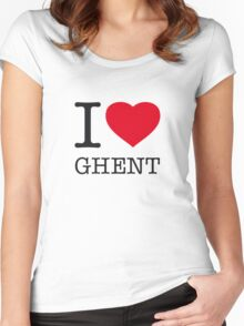 I ♥ GHENT Women's Fitted Scoop T-Shirt