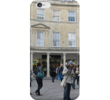 THE STREETS OF BATH ENGLAND iPhone Case/Skin