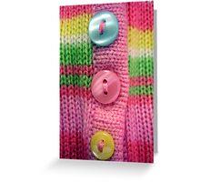 Candy Cardi Greeting Card