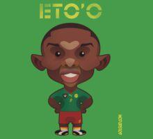 Eto'o Cameroon by alexsantalo