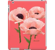 When You Say Nothing At All~ Poppies iPad Case/Skin