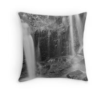 Falling streams Throw Pillow