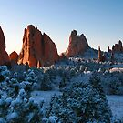 Garden of The Gods by Michael  Browne