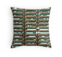 Generator Vents Throw Pillow