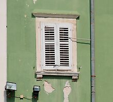 White Shutters, Piran by jojobob