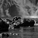 Base of the Falls - in Monochrome by photograham