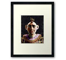 Bobbo Weeps Framed Print