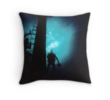 Nassau Divers Throw Pillow
