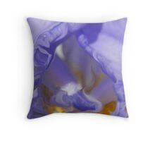 lost in purple Throw Pillow
