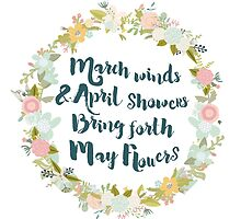 May Flowers brush script by sevenroses