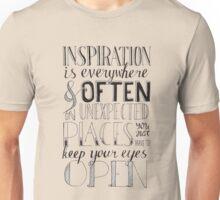 Inspiration is Everywhere Unisex T-Shirt