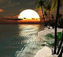 Sunset Beach by Steve Davis
