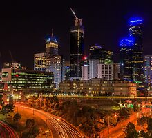 Melbourne Night by Chris Kean