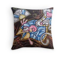 SYDNEY GRAFFITI 7 Throw Pillow