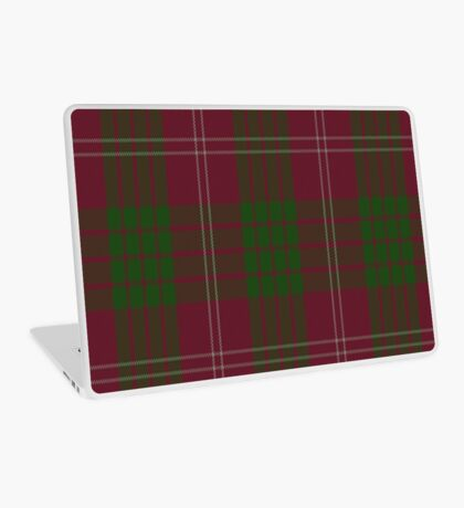 00030 Crawford Clan Tartan Laptop Skin