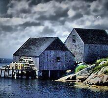 Peggy's Cove by HighHeadArtwork