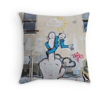 SYDNEY GRAFFITI 9 Throw Pillow