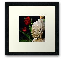 Springtime for Buddha Framed Print
