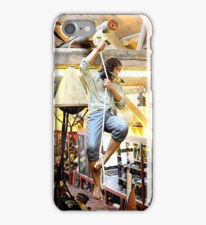 Don't drop the knife iPhone Case/Skin