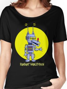 Robot Wolfman Women's Relaxed Fit T-Shirt