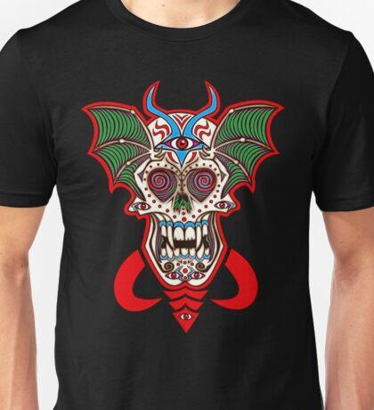 Undead Sugar Skull Unisex T-Shirt