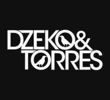 Dzeko & Torres (White Logo) (Transparent Background) by Melofish