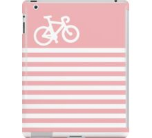 Baby Pink Bike with Stripes iPad Case/Skin