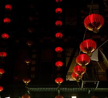 Red Lanterns by Alejandro Martinez
