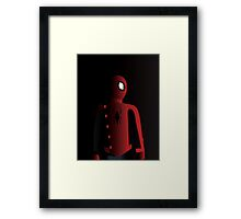 Last Stand Spider-Man Framed Print