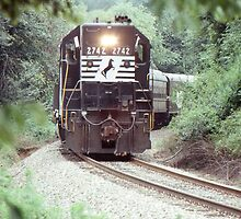 GP38 at Pisgah Forest, North Carolina by GMooneyhan