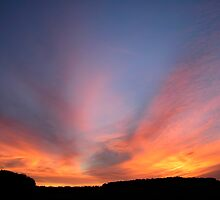 Lye Hill Sunset 1 by Geoff Spivey