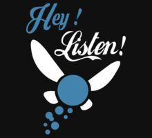 Hey Listen - Tshirts & Hoodies T-Shirt