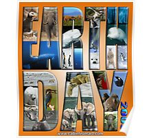 EARTH DAY 2009 FROM DAVID M BOOTH, CABIN FEVER ARTWORKS Poster