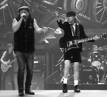 AC/DC B&W by Honor Kyne