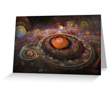 'Misty Multiverse' Greeting Card
