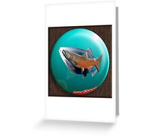 KING SPHERE-TIMELESSNESS Greeting Card