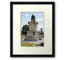 Gower Memorial, Stratford-upon-Avon Framed Print